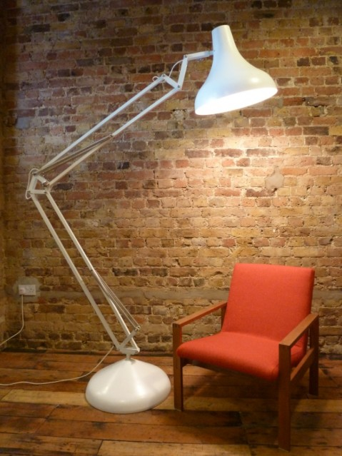 Lamp Home | Max Lamp:Max white against brick wall Max white with red chair ...,Lighting