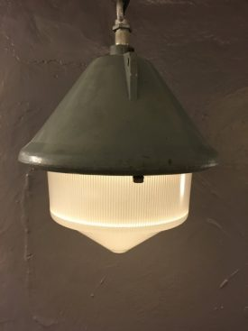 1950's Fireproof factory lamp