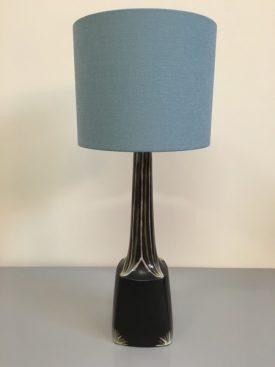 1960's Danish Ceramic Lamp