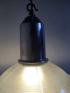 Holophane chandelier