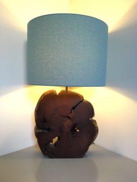 African Mahogany Lamp
