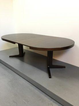 Danish Dark oak dining table