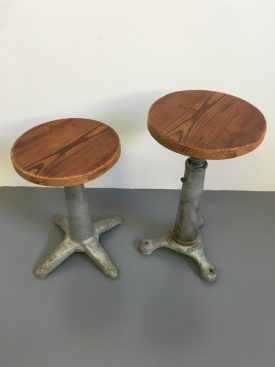 Singer machinist's stool