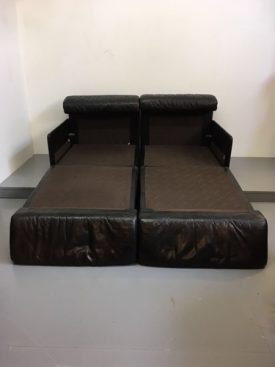 De Sede leather sofa bed