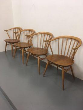 Ercol Cowhorn Chairs