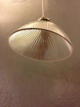 Asymmetrical Holophane Shade