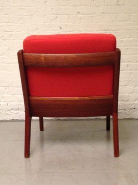 Single Ole Wanscher Senator arm chair