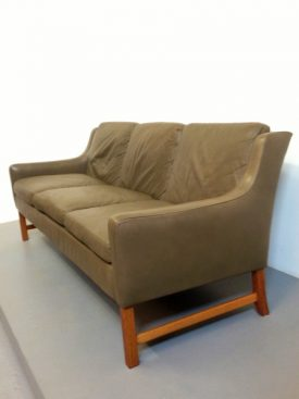 Norwegian leather sofa