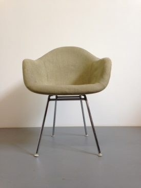 Upholstered Eames chairs