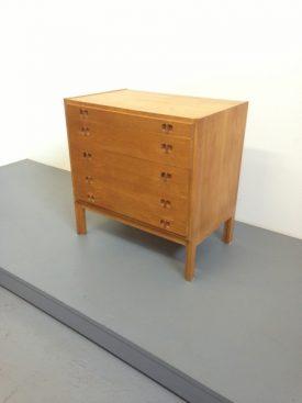 Danish Oak Chest of Drawers