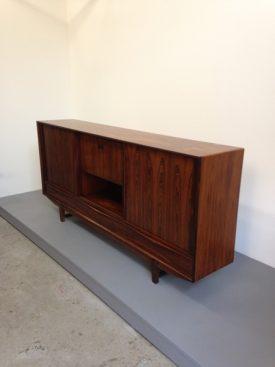 Large rosewood sideboard