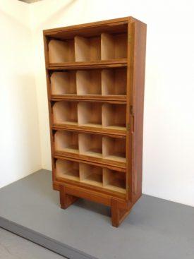 Large oak cabinet