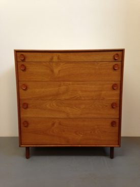 Large teak chest