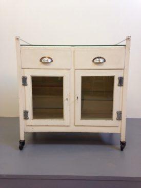 1950's Medical Cabinet