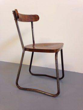 1950's Tubular steel chair