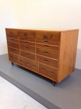1950's Haberdashery Cabinet
