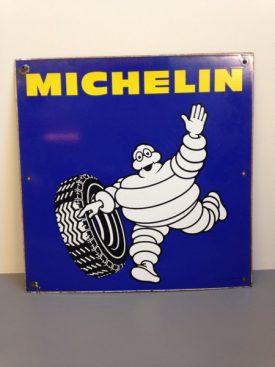 Enamel Michelin sign
