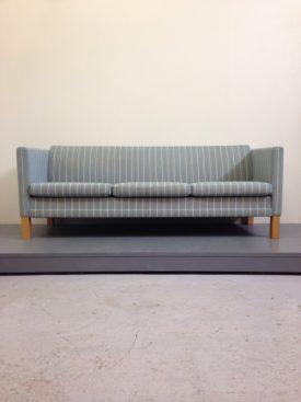 Blue Pin stripe sofa