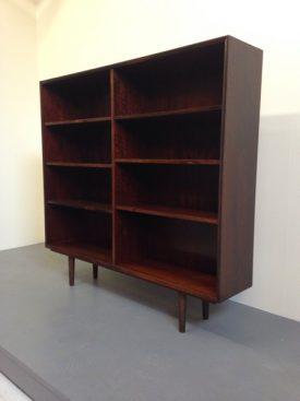 Rosewood and Mahogany Bookshelf