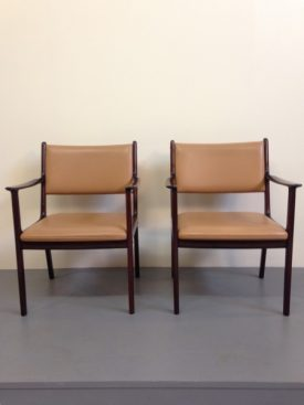 Ole Wanscher Arm Chairs