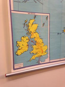 1970's GB Map
