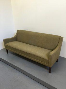 Danish Olive green sofa