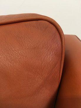Møgens Hansen leather sofa