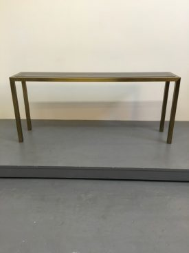 1950's French brass console