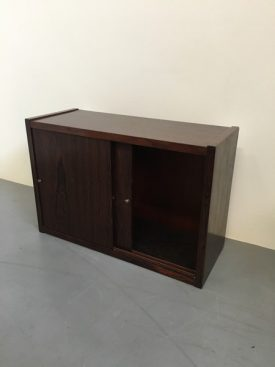 1960's rosewood Wall Cabinets