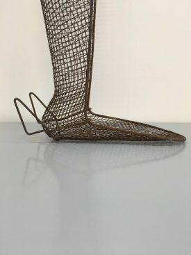 Wire leg splint
