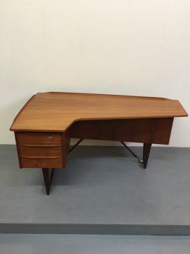 Peter Løvig teak boomerang Desk