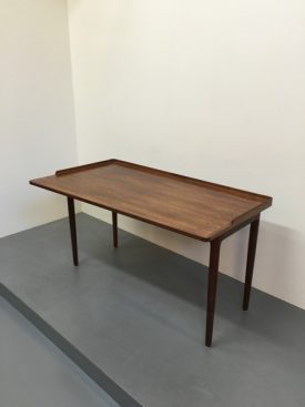 1960's asymmetrical Rosewood desk