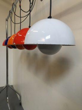 Verner Panton Flowerpot lamps