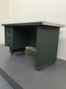1950's French metal desk