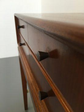 Danish teak mini chest