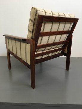 Illum Wikkelsø rosewood lounge chairs