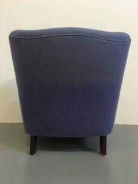 Danish Scroll armed chair