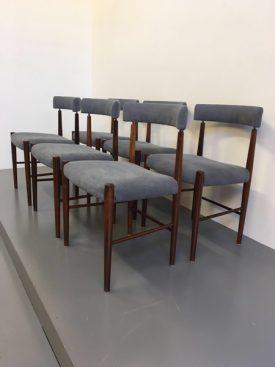 Set of 6 Danish dining chairs