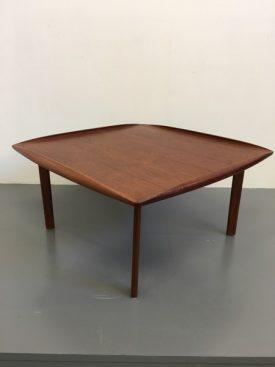 Square Danish coffee table