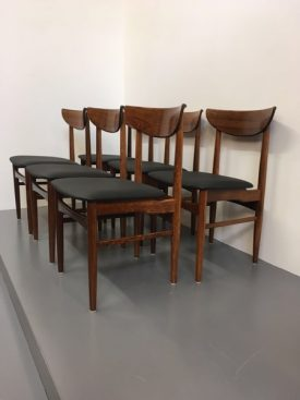 Dyrlund rosewood dining chairs