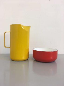Yellow Enamel Jug