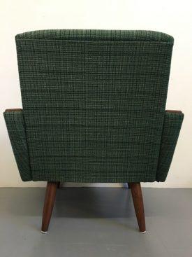 Green Wool Lounge chairs