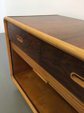 Rosewood Tambour cabinet