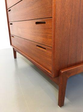 Danish 7 drawer chest