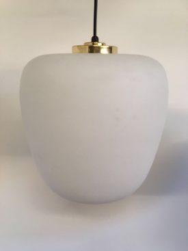 Danish Opaline Pendants