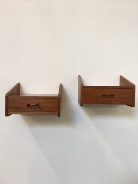 Winged Bedside tables