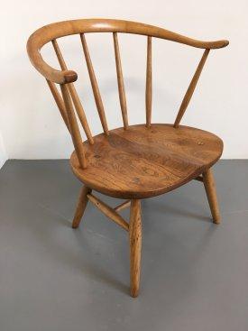 Ercol low fireside chair