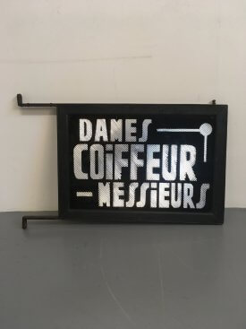 French Coiffeur sign