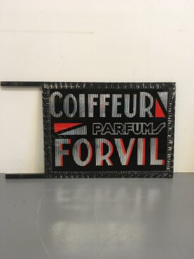 Forvil Shop Sign