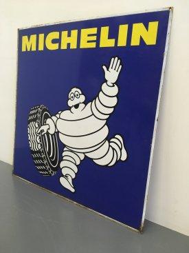 1960's Michelin Enamel sign